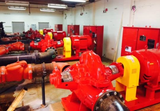 Vandenberg AFB Fire Pumps Replaced by MS2