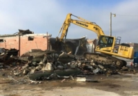 Demolition of Building at NAS Pensacola by Mission Support Services