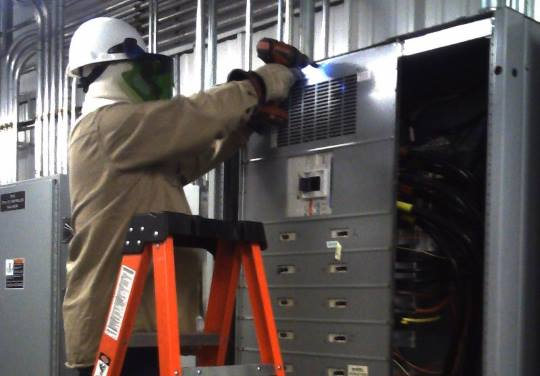 MS2 Performing Arc Flash Hazard Analyses for US Army JMC